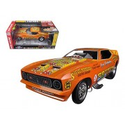 1971 Ford Mustang Nhra Funny Car Limited Edition To 750pcs 1/18 By Autoworld Aw1169