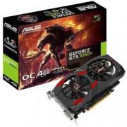 Видео карта Nvidia GeForce GTX 1050 Ti, 4GB, Asus Cerberus OC Edition, PCI-E 3.0, GDDR5, 128 bit, Display Port, HDMI, DVI
