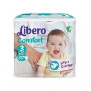 Libero Baby Comfort 3 Fraldas (4-9Kg) 30unid