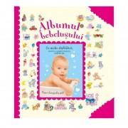 Albumul bebelusului, editura Girasol, roz