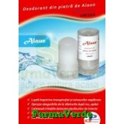 Deodorant STICK cu Piatra de Alaun 100% Natural Global Alliance