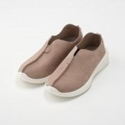 QUOKKA 袋縫いパンチングVカットスリッポン【QVC】40代・50代レディースファッション