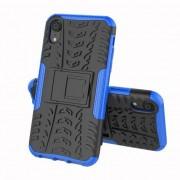 GadgetBay Coque standard hybride antichoc pour iPhone X XS - Bleu