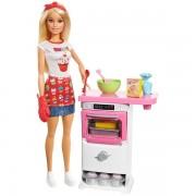 Barbie Storytelling Bakers Doll Playset