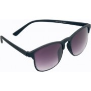 one touch Wave Clubmaster Sunglasses(Violet)