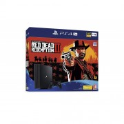 Конзола Sony Playstation 4 PRO 1TB Black + Red Dead Redemption PS4