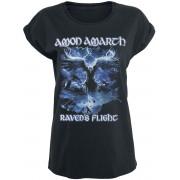 Amon Amarth Raven's Flight Damen-T-Shirt - Offizielles Merchandise S, M, L, XL Damen