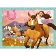 Puzzle Ravensburger - DreamWorks - Spirit Riding Free, 150 piese XXL (10055)