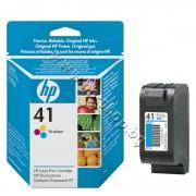 Касета HP 41, Tri-color, p/n 51641A - Оригинален HP консуматив - касета с глава и мастило