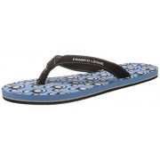 Franco Leone Women's Sky Blue Flip-Flops and House Slippers - 6 UK/India (39 EU)