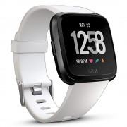 Smartwatch Fitbit Versa (NFC) White Band / Black Case Aluminum