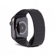 Decoded Kožený řemínek pro Apple Watch 42mm / 44mm - Decoded, Traction Black