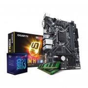 Combo Actualizacion Intel I3 8100 3.6ghz H310 8gb-Negro