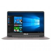 "Лаптоп Asus ZenBook UX410UA-GV183T(сребрист) в пакет с Carry Sleeve, двуядрен Kaby Lake Intel Core i7-7500U 2.70/3.50GHz, 14"" (35.56 cm) Full HD LED дисплей(HDMI), 8GB DDR4, 256GB SSD, 1x USB 3.1 Type-C, Windows 10, 1.4kg"