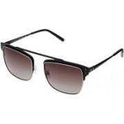 TOMMY HILFIGER Retro Square Sunglasses(Brown)