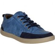 Marco Ferro 1666 Blue Men Casual Lace-Ups 10 UK
