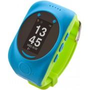 "Smartwatch MyKi Watch, Display OLED 0.96"", Wi-Fi, 2G, dedicat pentru copii (Albastru/Verde)"