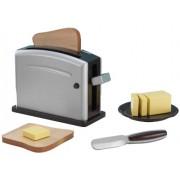 KidKraft Wooden Toaster Set - Espresso