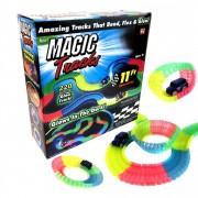 Magic tracks pista de curse care straluceste in intuneric