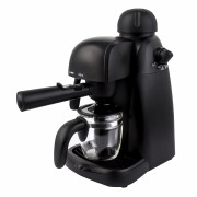 Espressor manual Heinner HEM-150BK, 3.5 bari, 240 ml, Negru