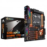 Gigabyte X299 AORUS Gaming 7 Pro Intel X299 LGA 2066 ATX motherboard