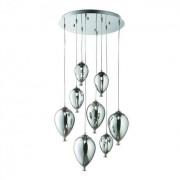 Lampa suspendata baloane - Clown SP8 Crom