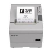 Epson TM-T88V, Impresora de Tickets, Térmico, Serial + USB, Blanco - incluye Fuente de Poder, sin Cables