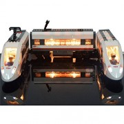 LED Light Set For High-speed Passenger Train Remote-Control Trucks Building Blocks Model- Compatible With Lego 60051 (NOT Included The Model Set)