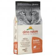 12кг Holistic Almo Nature суха храна за котки, мазна риба и ориз