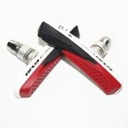 GUB 061VC zapatas de freno reemplazable V - negro + blanco + rojo ( 2 piezas )