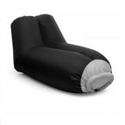Blumfeldt Airlounge, scaun gonflabil, 90x80x150cm, rucsac, lavabil, poliester, negru (AFL-Airlounge-BK)