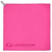 Lifeventure SOFTFIBRE TREK TOWEL ADVANCE; PINK; POCKET