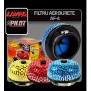Filtru aer Sport din burete AF-4 - Rosu