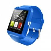 Ceas inteligent smart watch meniu in engleza pro blue--chemare ,sms,facebook