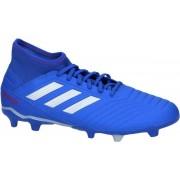 adidas Predator 19.3 Fg Voetbalschoenen Unisex - Blue/Silver - Maat 41 1/3