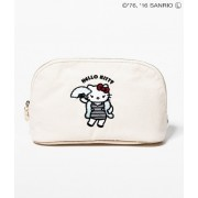 【HELLO KITTY×LE MAGASIN】刺繍ポーチ