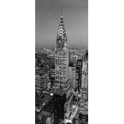 Ideal Decor Komar DM521 Chrysler Building Mural de pared de 2 paneles