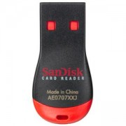 Четец за флаш карта SanDisk Mobile MicroMATE USB Card Reader for UHS-II, UHS-I and non-UHS microSD cards, SDDR-121-E12M