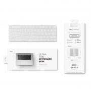 Elago Keyboard Skin - силиконов протектор за клавиатурата на MacBook Pro with Touch Bar (прозрачен-мат)