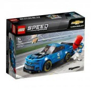Конструктор Лего Спийд Шампиони - Състезателна кола Chevrolet Camaro ZL1 - LEGO Speed Champions, 75891