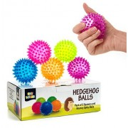Premium Stress Relief Sensory Toys Fidget Spiky Ball 5-PcsSet -Squeezy & Bouncy Antistress Toy Balls For Men, Women, Adults, Teens & Children -Ideal For People With OCD, ADHD, ADD & Autism