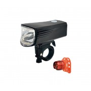 SET 2x LED Far bicletă reîncărcabil LED/5W/USB