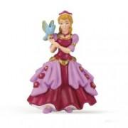 Figurina Papo-Printesa roz cu pasare
