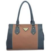 Lady Queen Multi Color Faux Leather Shoulder Bag