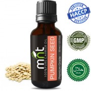MNT Pumpkin Seed Carrier Oil (30Ml) 100% Pure Natural & Therapeutic Grade Oil for Skin Care Hair Lip and Nail Care