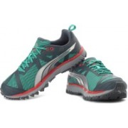 Puma Faas 500 TR Running Shoes For Men(Grey, Green)