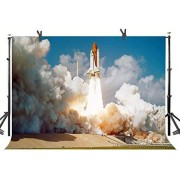 Zhyxia Zhy 7X5FT Flying Rocket Photo Background for Photography Studio Props 670