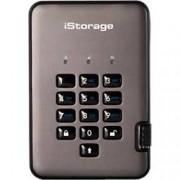 iStorage 1 TB Portable Encrypted Hard Drive diskAshur PRO2 USB 3.0 Black, Graphite