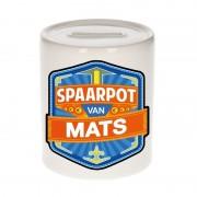 Shoppartners Vrolijke kinder spaarpot voor Mats