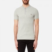 Diesel Men's Kalar Polo Shirt - Light Grey Melange - S - Grey